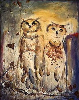 Owls by Michael Ryan