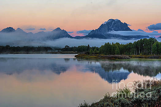 Oxbow Bend Sunrise- Grand Tetons Version 2 by John Greco
