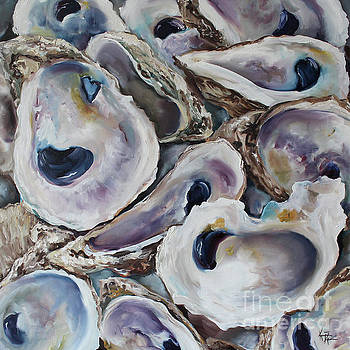 Oyster Shells by Kristine Kainer