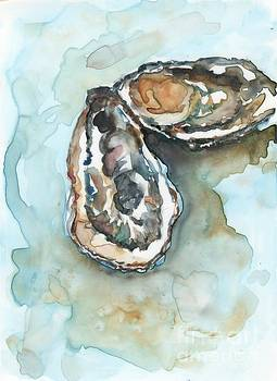 Oysters for Sandra by Bev Veals