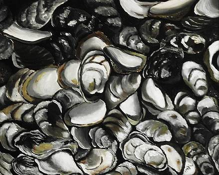 Oysters by Kim Selig