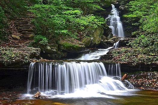 Frozen in Time Fine Art Photography - Ozone Falls of Ricketts Glen