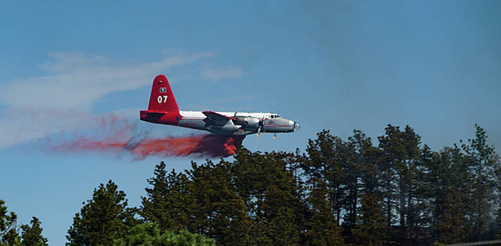 P2V Red Canyon Fire by Bill Gabbert