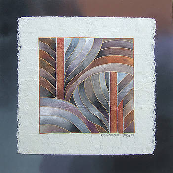 Pacific Palms III by Maria Rova