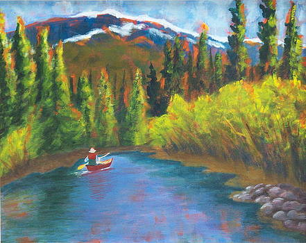 Paddling the Fraser by Sally young Mason