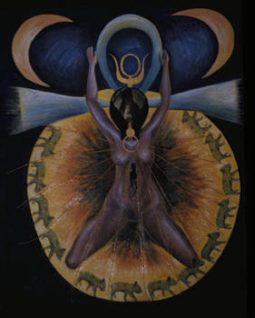 Pagan Mother Creation Myth by Barbara Nesin