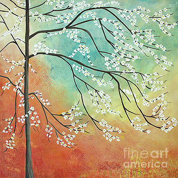 Flowering Dogwood Blossom Joy by Barbara McMahon