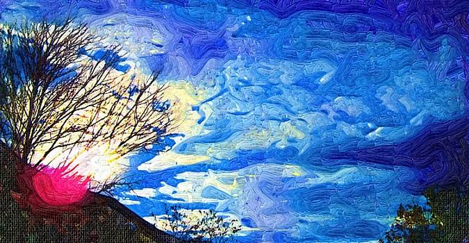 Painted Blue Sky by Skyler Tipton