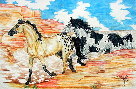 Painted Desert by Monica Turner