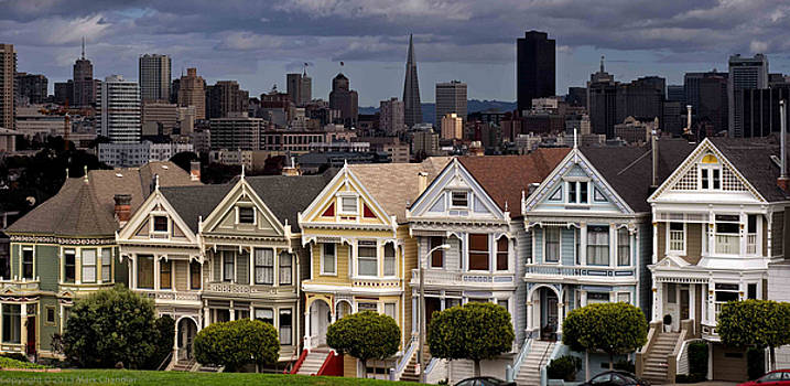 Painted Ladies San Francisco by Mark Chandler