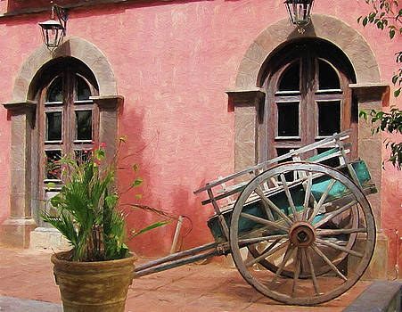Marilyn Wilson - Picturesque Hotel in Loreto - painted