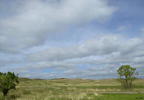 Painted Plains by JoAnn Lense