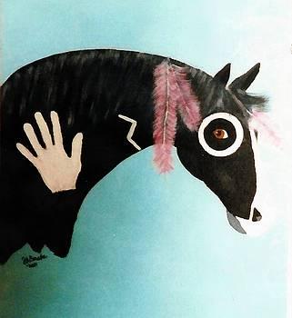 Painted Pony by Joseph Frank Baraba