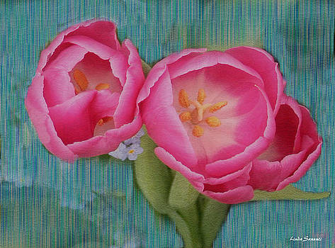 Linda Sannuti - Painted tulips