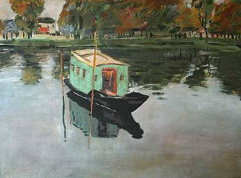 Painters Boat by Garnett Thompkins