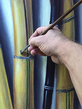 Painting Bamboo by Randy Burns