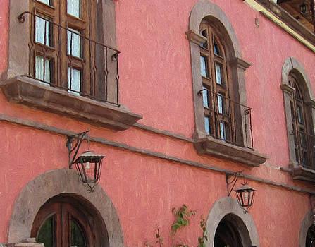 Marilyn Wilson - Hotel in Loreto - painting 2