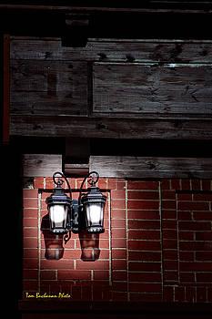 Pair of Lamps by Tom Buchanan