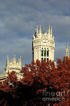 James Brunker - Palace of Communication in Autumn Madrid