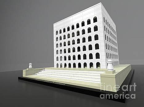 Palace of Italian Civilization by Alberto Catellani