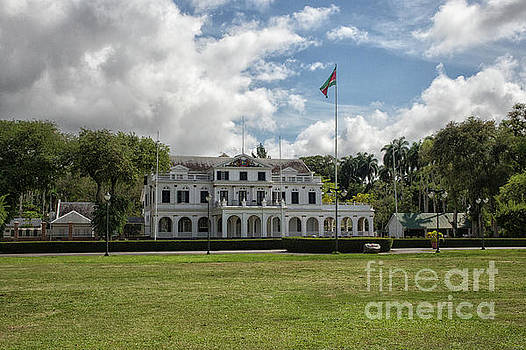 Patricia Hofmeester - Palace of president in Paramaribo