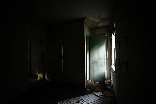 Pale Green Door by Geoffrey Coelho