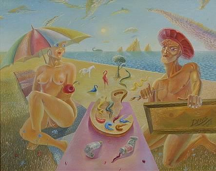 Palette Of The World by Denis Hmylnin