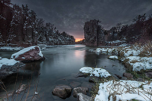 Palisades first snow by Aaron J Groen