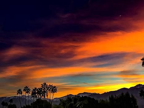 Palm Springs Sunset by Chris Tarpening