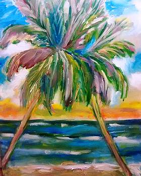 Patricia Taylor - Palm Tree Color Times Two