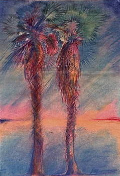 Palms 1 by Michael Ryan