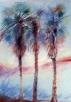 Palms 3 by Michael Ryan