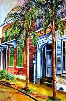 Palms on Esplanade Avenue by Diane Millsap