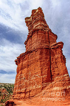 Palo Duro Canyon - Lighthouse Peak by Charles Dobbs