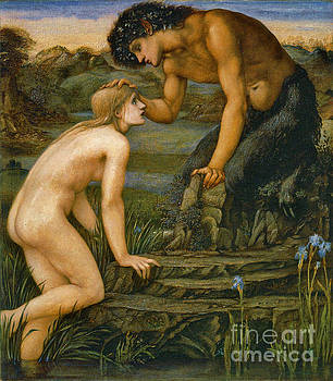 Pan and Psyche 1872 by Padre Art
