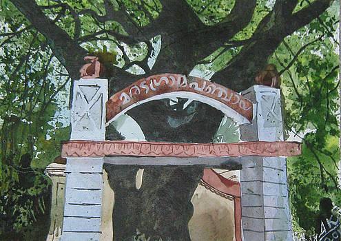 Panchayath Gate by Akhilkrishna Jayanth