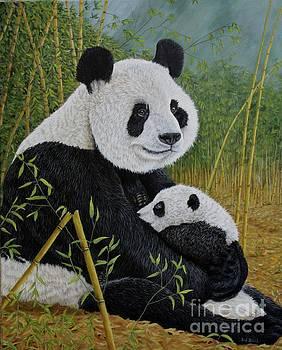 Panda Beer by Sid Ball