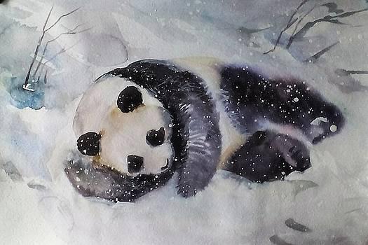 Panda by Valeriya Temnenko