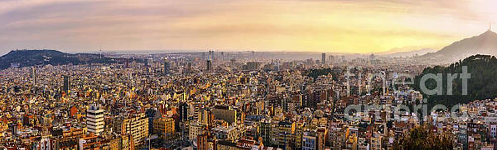 Svetlana Sewell - Panoramic Barcelona