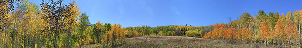 Panoramic Fall Colors Vista by Jeff Schomay