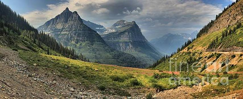 Adam Jewell - Panoramic Glacier Big Bend View