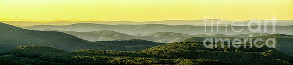 Panoramic View Highland Scenic Highway by Thomas R Fletcher