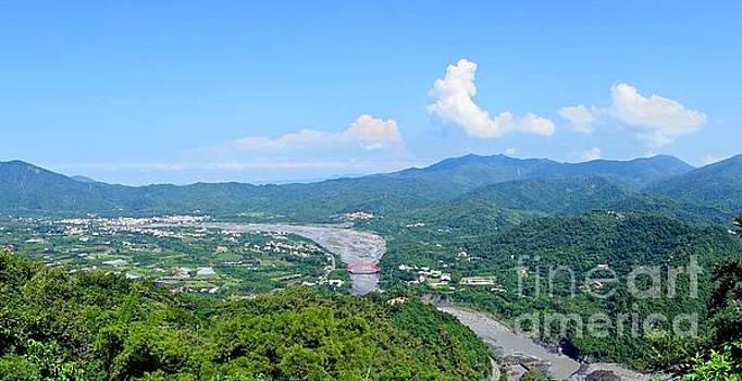 Panoramic View of Southern Taiwan by Yali Shi