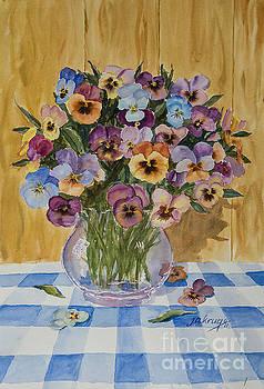 Pansies by Jim Krug