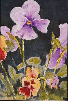 Pansies  by Mary Ellen Mueller Legault