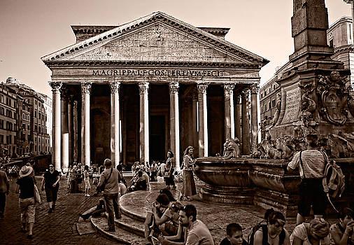 samdobrow  photography - Pantheon