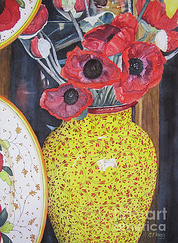 Paper Poppies by Carol Flagg