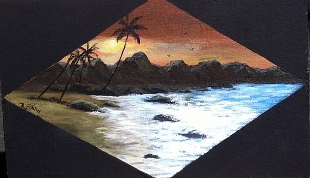 Paradise Sunset by Rich Fotia