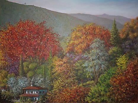 Yvonne Ayoub - Paraskevi Valley in Autumn