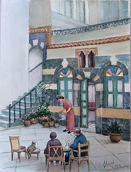 Parent's home by Laila Awad Jamaleldin